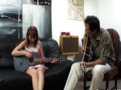 Horny music teacher ta... video