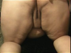 BBW  Anal Pig Gets Soaked