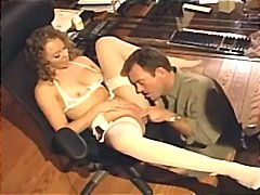 Tube8 - Sex in white lingerie ...