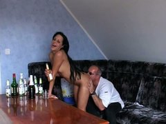 teen, man, amateur, old, girl, party, young,