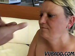 OLD, FAT LADY FUCKS WI... video