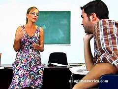 Hard sex teacher Nicol... video