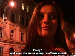 czech, reality, blowjob, public, brunette,