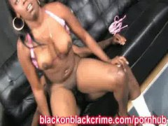 ebony, sex, big-tits, pounded, massive-cock, black, pussy, big dick, thick, extreme, rough sex, blackonblackcrime.com, gets, fucking, skank, fuck
