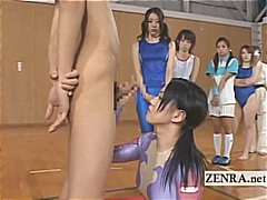 group, blowjobs, athletes, shy, japan
