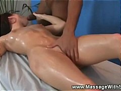 rubbing, babe, hard, masseuse, sucks