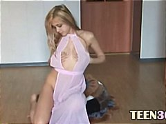 Cute blonde from czech...