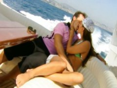 Redtube Movie:Claudia on a yacht