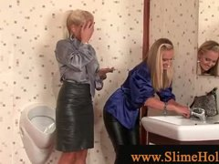 Gloryhole for blonds want ... - 06:03