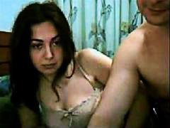 HardSexTube Movie:Brunette fucked by a bald guy