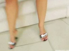 Laura Lion slides a bi... video