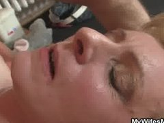 Thumb: Horny guy drills his G...