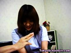HardSexTube Movie:Japanese asian schoolgirl tits...