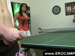 Table tennis with your... video