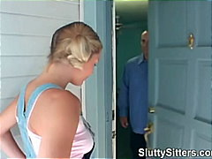 Blonde babysitter suck... preview