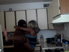 Tube8 Movie:Black Couple Has Sex in Kitchen