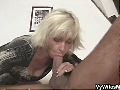 Thumb: Blonde mother in law s...