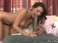 black, hardcore, dick, big cock, brunette, monster, interracial, blowjob, bitch,