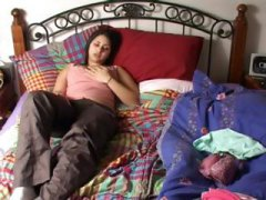 Nuvid Movie:Busty brunette in some good ol...