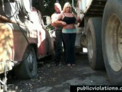 Truck Stop Banging Milf video