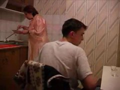 Nuvid Movie:Granny Gets Fucked In Kitchen