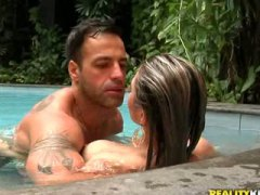 blowjob, creampie, kiss, outdoor, beauty, throatfuck, anal, brunette, latina, wet, babe, hardcore, small-tits, deepthroat, brazilian, skinny, brazil, orgasm,