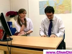 Tube8 Movie:Cfnm schoolgirls humiliate guy...