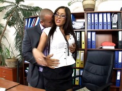 Office secretary fucked in... - 06:02