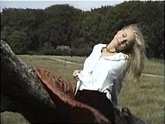 Nuvid Movie:Naughty blonde in the meadow f...