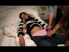 fulldrunken sleep teen... preview