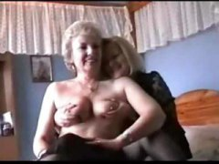 Nuvid Movie:Two Grannies play in Lingerie ...