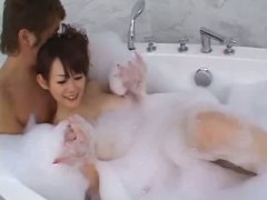white girl in the bath... video
