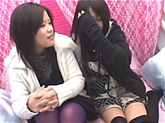 Two cute Asian lesbian... video