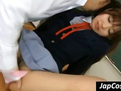 innocent, uniform, panties, licked, asian schoolgirl, japanese, schoolgirl, classroom, fetish, gets, asian, asia, young, cosplay