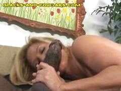 blowjob, young, cougar, black