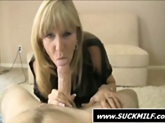 milf, mom, cougar, blowjob