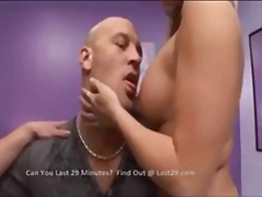 cumshot, boobs, blonde, threesome,
