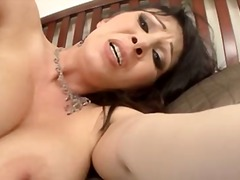 Hot MILF gives all hol...