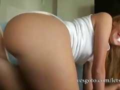 soft, amateur, blonde, ass, doggystyle