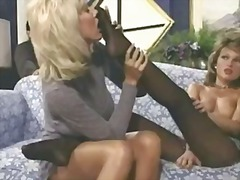 cumshot, retro, blonde, oral, feet,