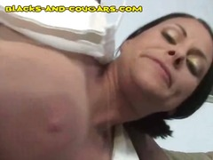 interracial, blowjob, milf, black