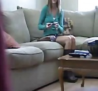 small tits, brunette, toys,