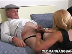 gangbang, threesomes, old + young