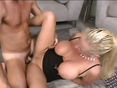 Blond gilf slut gettin... video