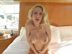 milf, fake tits, pussy eating
