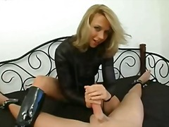 See: Blonde mistress ties h...
