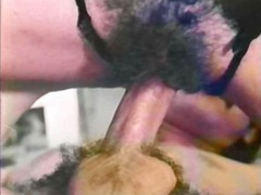 hairy, blowjob, retro, oral, vintage,