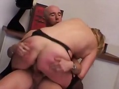 mature, curvy, milf, blowjob, blonde