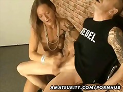 handjob, orgasm, amateur, mature,
