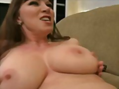 Cheating big-tit brunette MILF slut f...